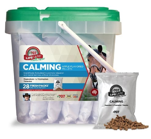 the best calming supplement for horses
