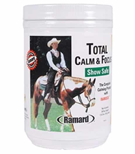 best calming supplement frightened horses